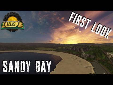 EXCLUSIVE | Farming Simulator 17 | First Look at | Sandy Bay By Oxygendavid