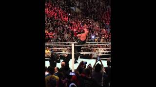 the rock returns at the royal rumble to help roman reigns