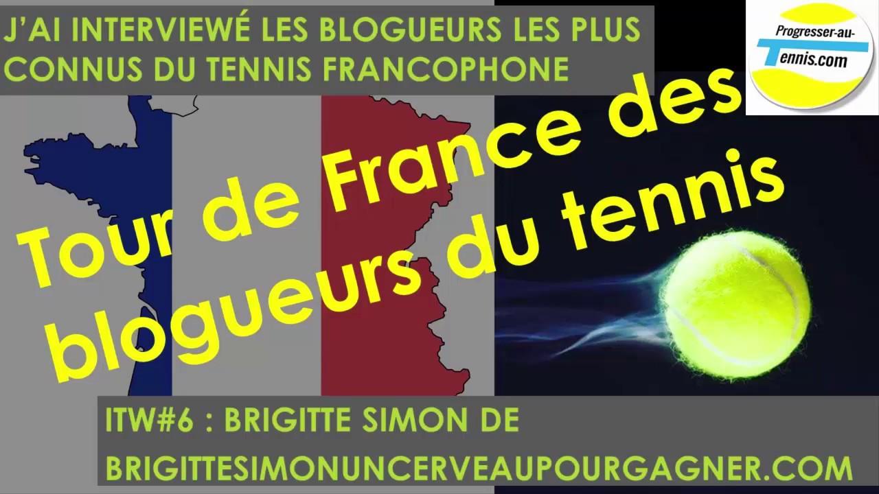 Progresser au tennis : ITW#6 Brigitte Simon un cerveau pour gagner