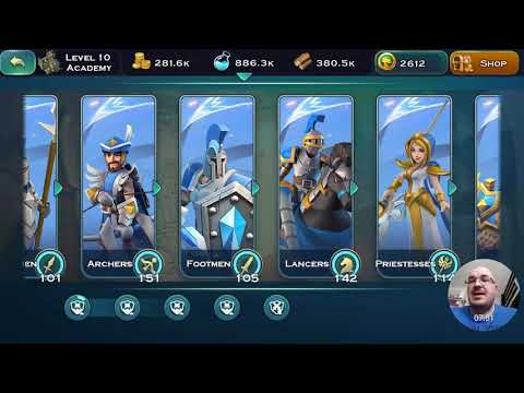 Art Of Conquest(AoC) tips, how to spend resources efficient, academy, how to progress