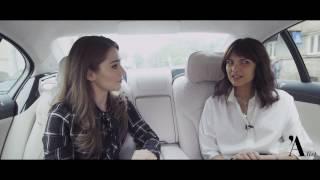 LOOK WHOS DRIVING: Malvina Cservenschi