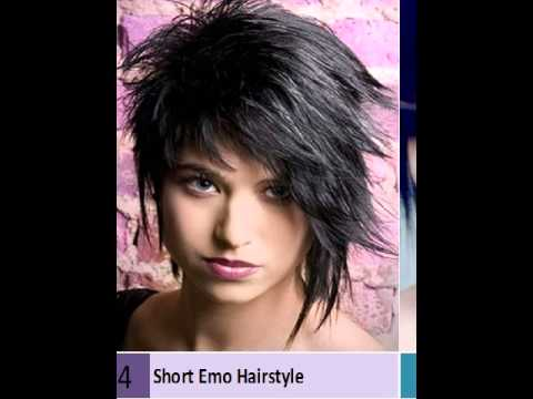 Emo Hairstyles For Guys With Short Hair YouTube - Emo girl hairstyle video