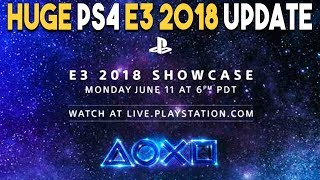 HUGE PlayStation 4 E3 2018 UPDATE and AWESOME PS4 DEALS!