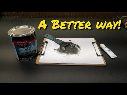 Don't mix any more body filler or epoxy until you see this video!