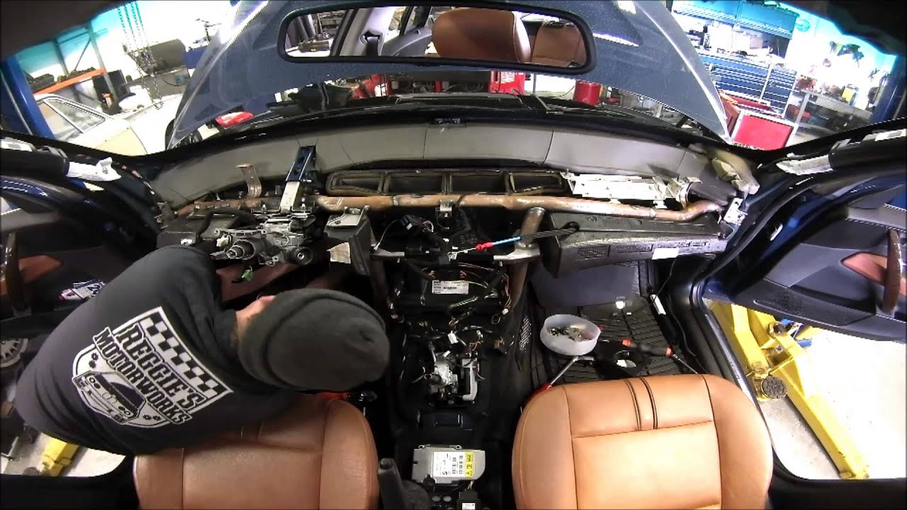 F350 Ac Wiring Diagram Replacing A Bmw X3 Air Conditioning Evaporator Youtube