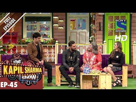 The Kapil Sharma Show - Episode 45–Yuvraj and Hazel in Kapils Show–24th Sep 2016