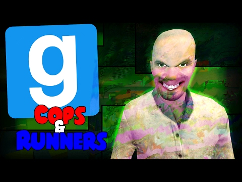 CRAZIEST GLITCH SPOT EVER - GMOD Cops And Runners Funny Moments