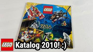 LEGOs fantastischer Start ins letzte Jahrzehnt! | Katalog Januar - Juni 2010 !