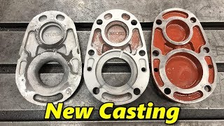 Machining a Replacement Casting Part 1