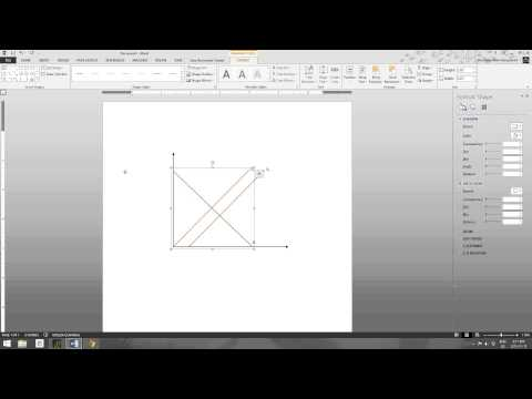 Economics class - How to Make Graphs in Microsoft Word - YouTube