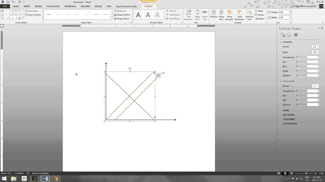 Economics class how to make graphs in microsoft word youtube ccuart Images