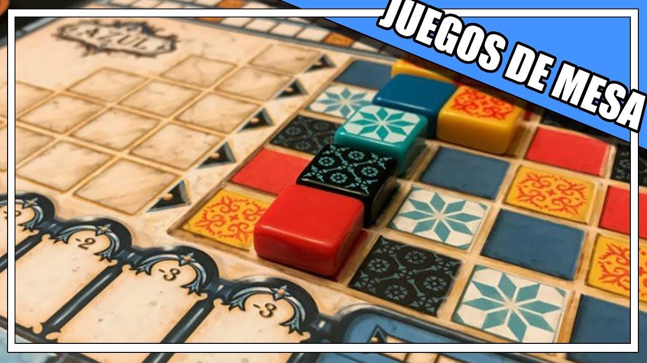 La Mesa De Dam Azul 5 Resena Juegos Mesa En Espanol Youtube
