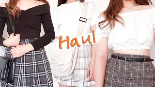 Korean Clothing Haul!  3월 대학생 …