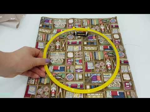 видео: Шьем вместе органайзер для вышивки Рукодельная полочка/Часть 1