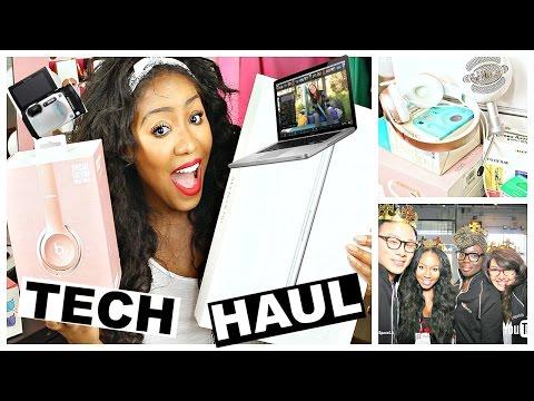 HUGE Tech Haul & Unboxing   NEW Macbook PRO, Beats by Dre + More!