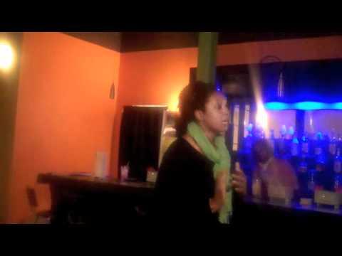 Prolifer activist meet at Nubia Cafe