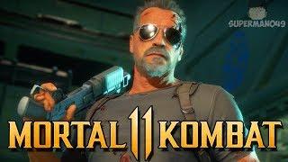 "This Terminator Variation Is Amazing! - Mortal Kombat 11: ""Terminator"" Gameplay"