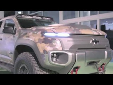 Chevy, U.S. Army team up for new SUV