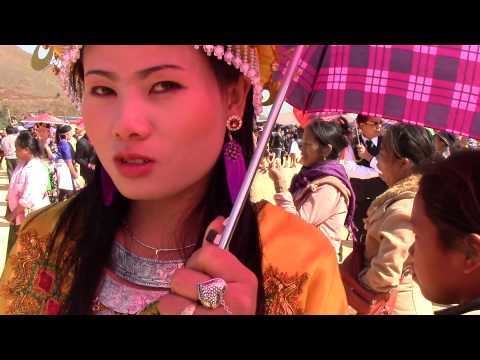 Pretty Hmong Lady in Laos 2014