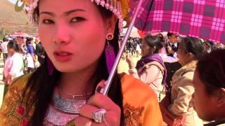 Pretty Hmong Lady in Laos 2014