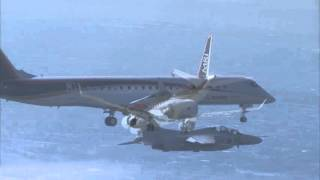 The First Sortie of 1st MRJ Flight Test Aircraft