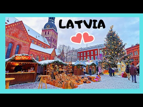 LATVIA: The wonderful CHRISTMAS MARKETS of RIGA