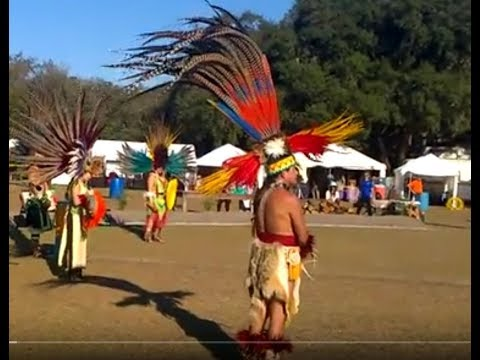 Descendents of the Aztec Tribe trying to keep the culture alive.