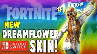 Fortnite DreamFlower Skin Gameplay!! (Nintendo Switch) - Fortnite Battle Royale Gameplay