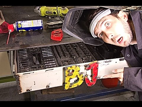Make A Metal Drawer Youtube