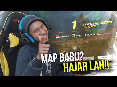 MAP BARU 300 ORANG!? AUTO WIN LAH!! - RULES OF SURVIVAL INDONESIA