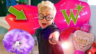 MAGICAL WIZARD SLIME, TOYS, AND CANDY! - Wizarding World Haul And Dress Up!