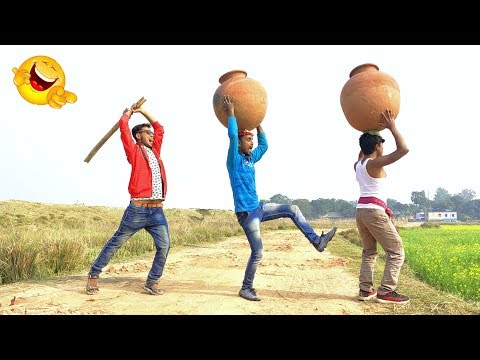 Must Watch New Funny Video😂😂 Top New Comedy Video 2019   Try To Not Laugh   #myfamily