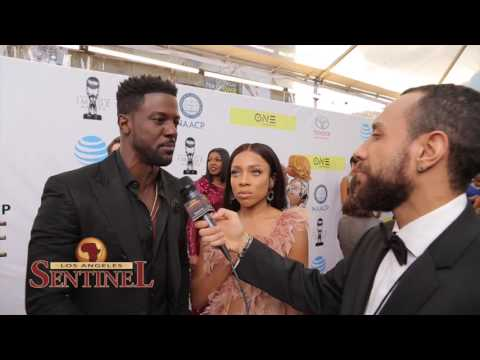 Lance Gross and Lil Mama Talk About Upcoming Movie