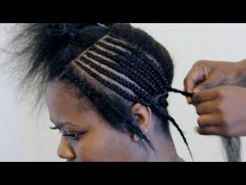 Basic Full Weave Installation Intersecting Braid Pattern Part I - Diy braid pattern