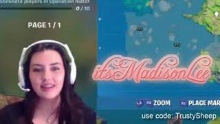 🔴 LIVE - Fortnite : Gamer Girl: itsMadisonLee - It's Madison Lee: Girl Gamer