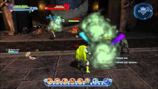 DCUO PS3 Gameplay - Part of a Duo Mission.