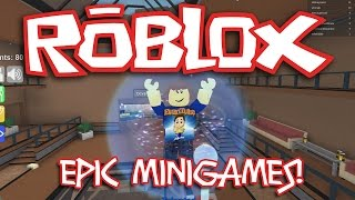 MINIGAMES EPIC ROBLOX! Quest for the Duck!