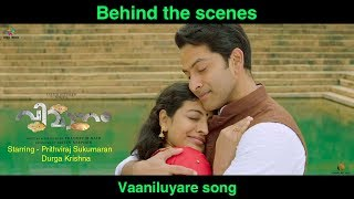 Behind the Scenes of Vaaniluyare Song   VIMAANAM