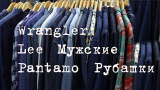 Обзор мужских рубашек Pantamo, Wrangler, Lee