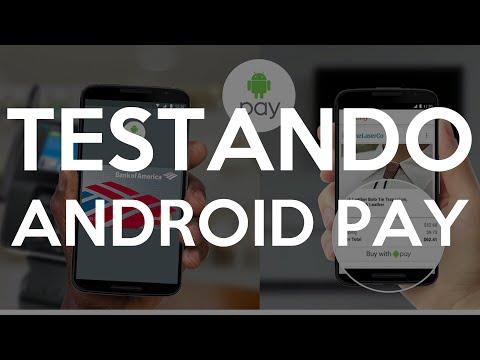 Como funciona o Android Pay! (PT-BR) Testando!