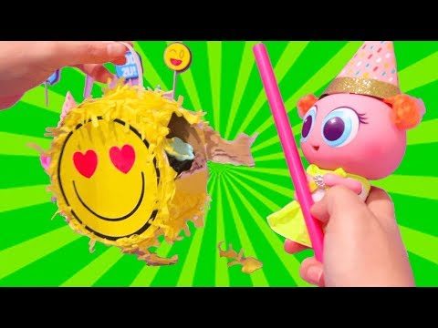 Party Time Again ! Toys and Dolls Fun for Kids with Toy Babies & Toddlers Birthday Bash | SWTAD