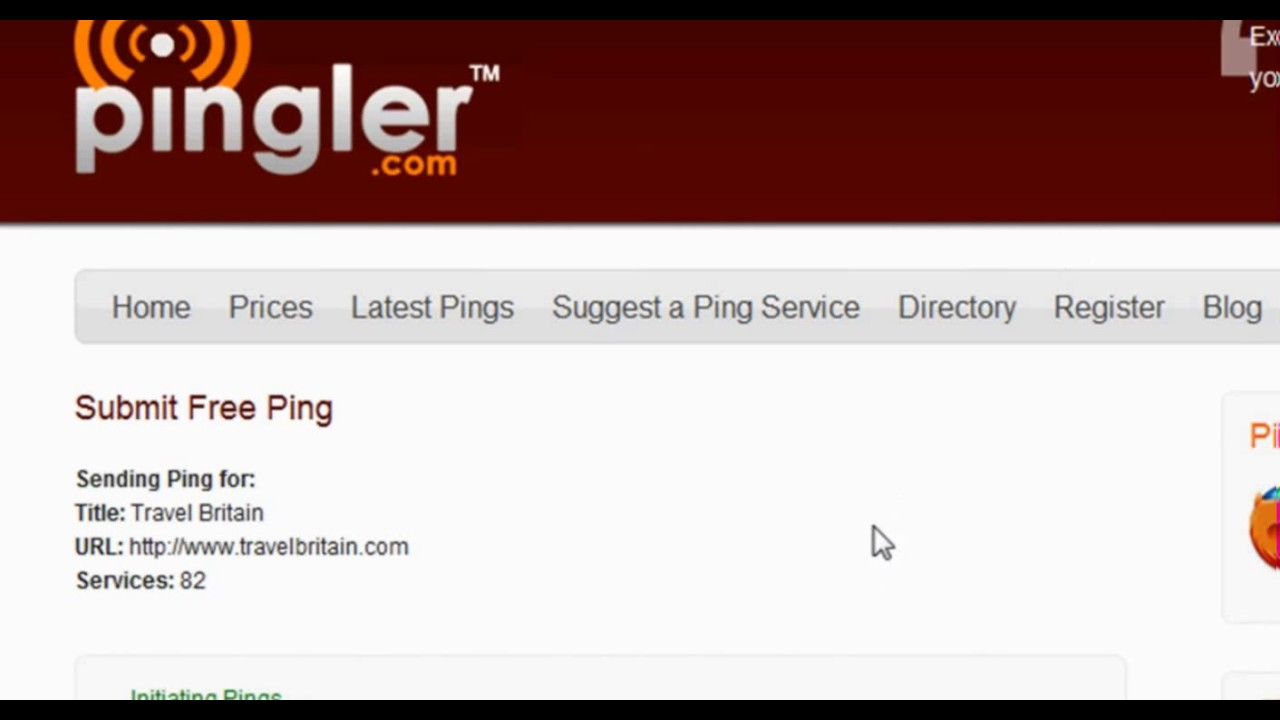 Pingler - The Free Ping URL Service for 2017