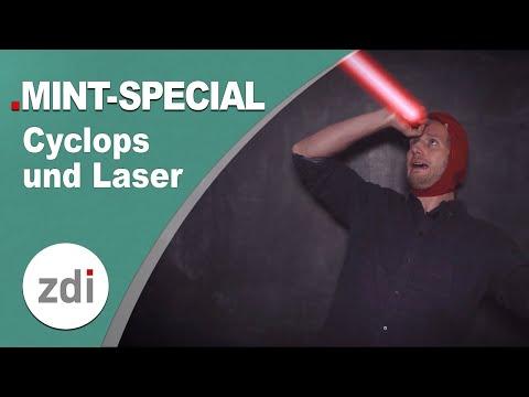 Wie kann Cyclops Laser aus den Augen schießen & was ist ein Laser? • X-Men meets MINTFakt Spezial