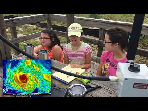 Hurricane Irma Preparations - Practicing How to Communicate with Ham Radio During the Storm