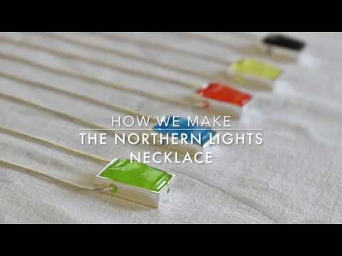HOW WE MAKE THE NORTHERN LIGHTS NECKLACE