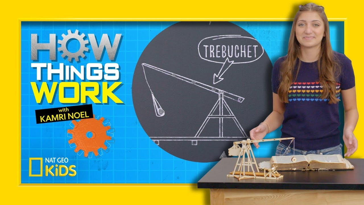hight resolution of how trebuchets work how things work with kamri noel