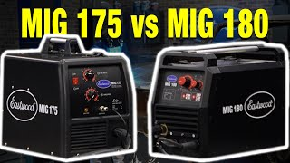 How is the MIG 180 Different Than the MIG 175? Everything You Need to Know! Eastwood!