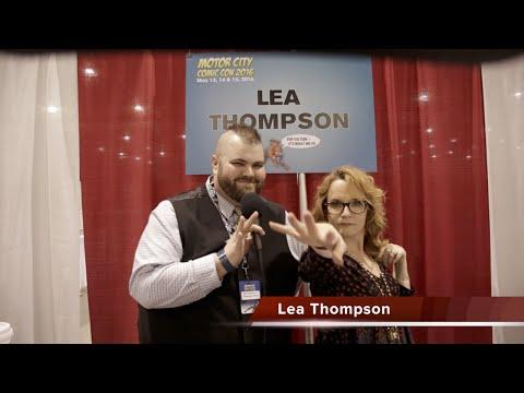 Motor City Comic Con 2016 - Lea Thompson Interview