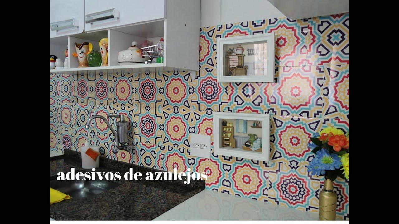 Aparador Espelhado Bronze ~ ADESIVO DE PAREDE AZULEJO DE COZINHA YouTube