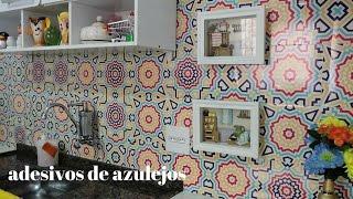 ADESIVO DE PAREDE .....AZULEJO DE COZINHA